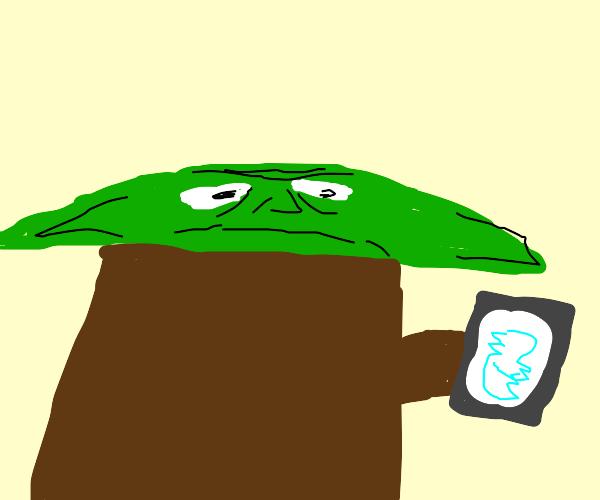 yoda is on twitter