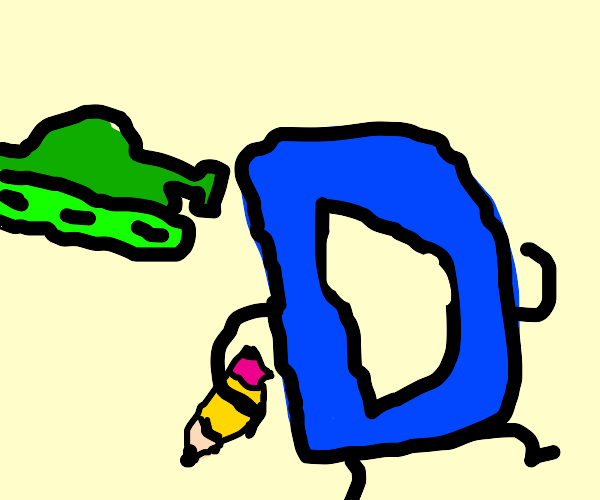 Giant tank is after Drawception