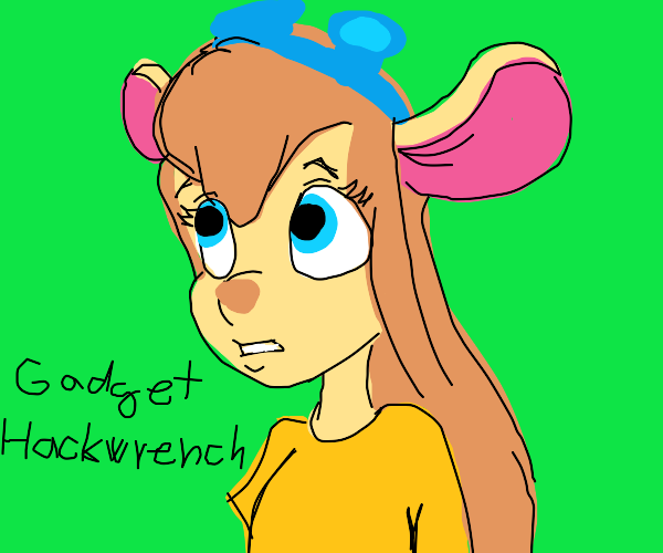 Gadget Hackwrench (Rescue Rangers)