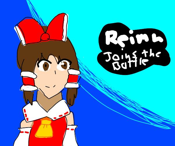 Reimu (touhou) joins smash
