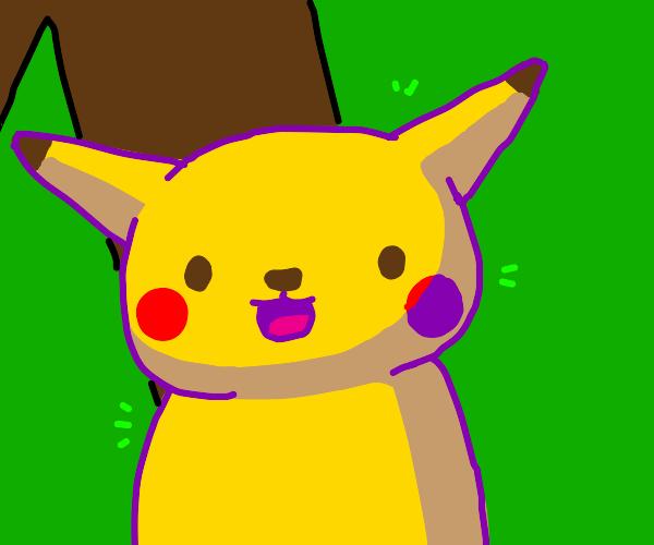 Pikachu face meme