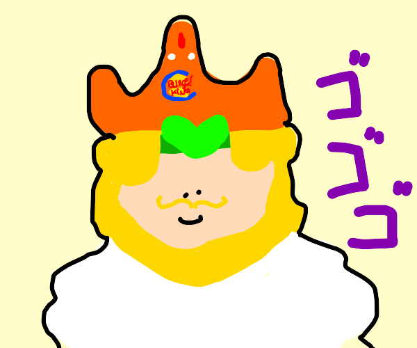 Dio is the burger king