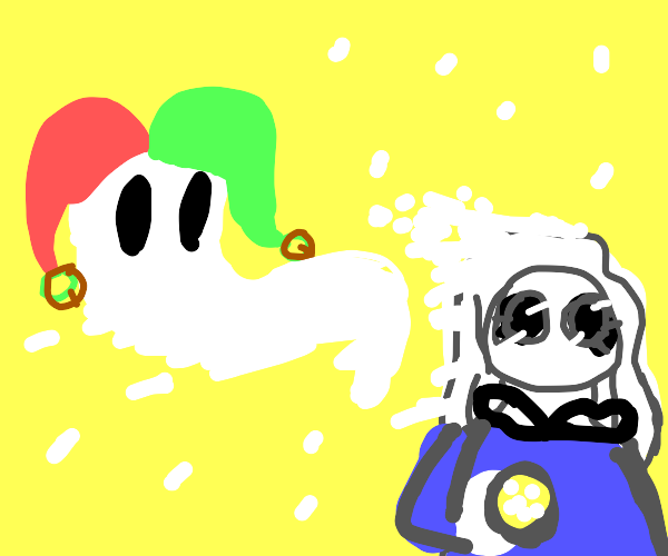 ghost jester and female ghost arctic explorer