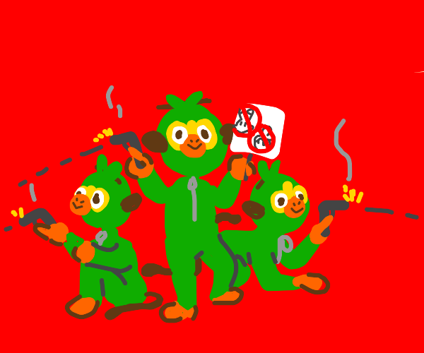 #GrookeyGang shoots up the other squads
