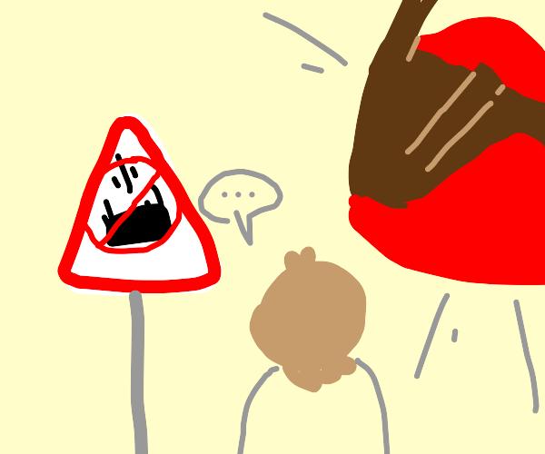 Beware of falling tables!