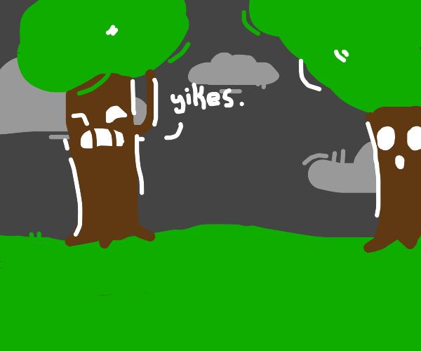 sentient trees