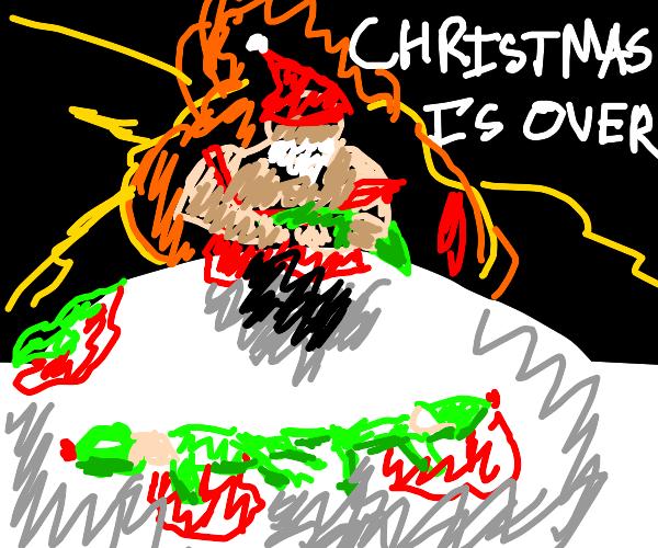 Christmas is over guys :(
