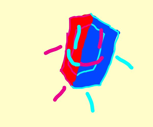 Happy ruby-sapphire hybrid