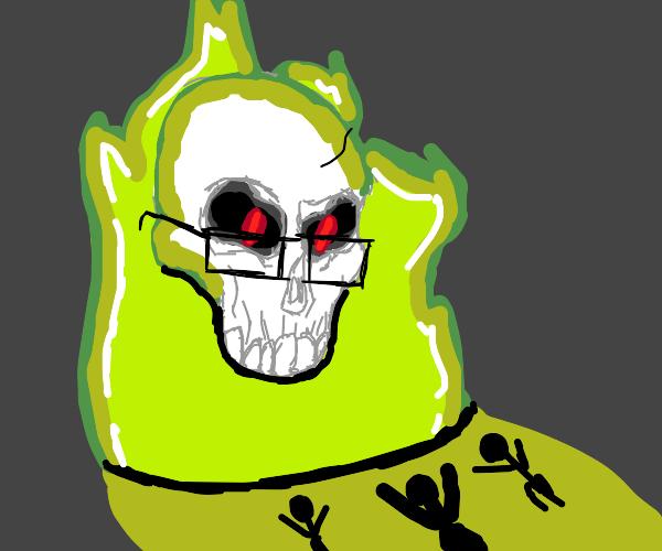 Praise the Skeleton God