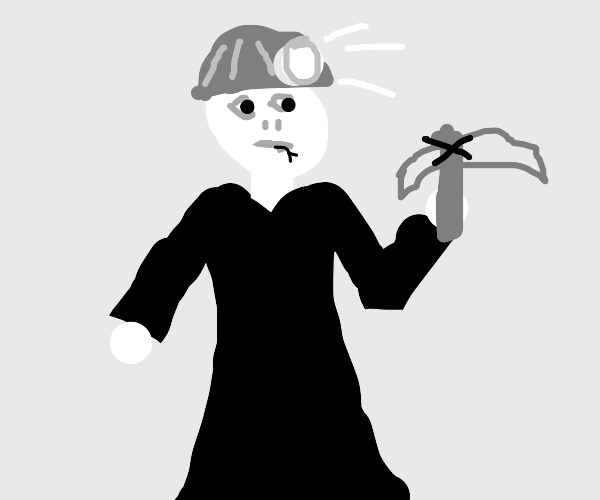 Voldemort is a miner now