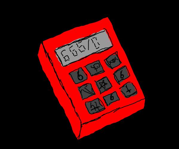Demon calculator divides by zero