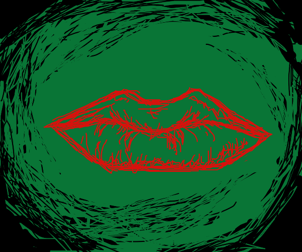 lips in the green dimension