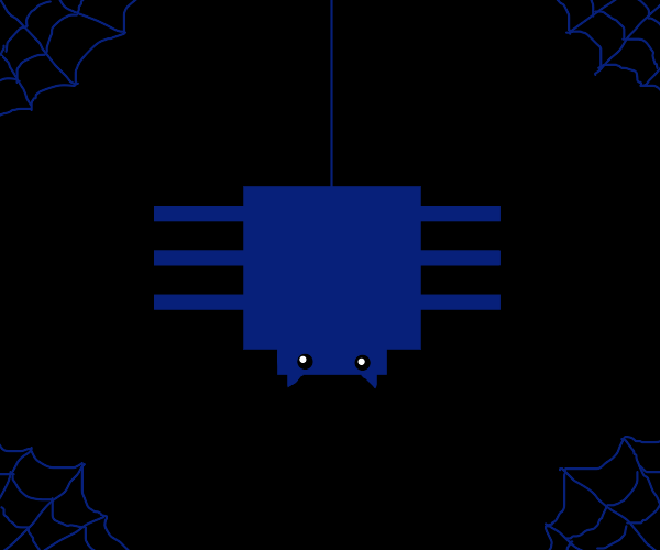 Six-Legged Blocky Spider