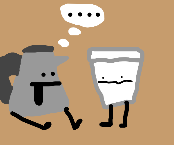 a kettle and a cup have a conversation
