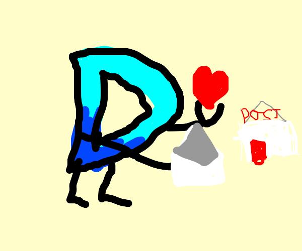 Drawception D sends his love
