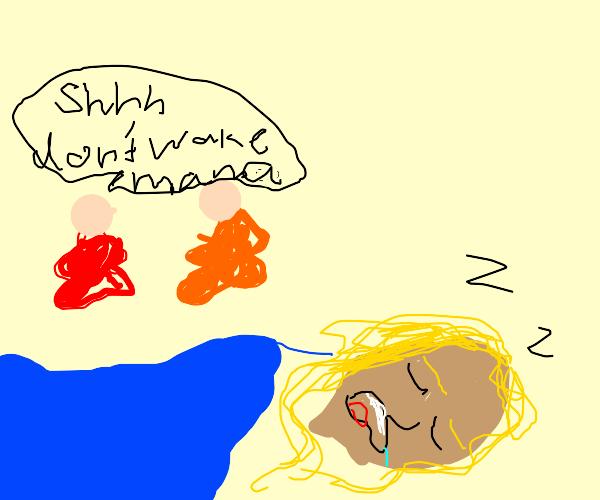 Sleepy Mama