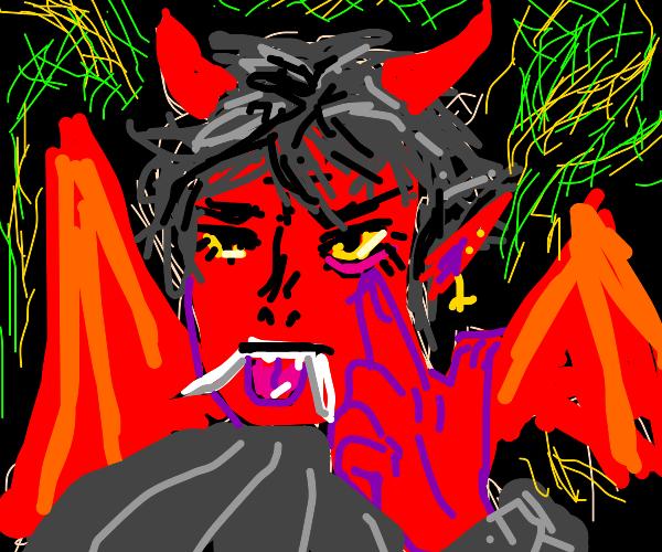 Edgy demon