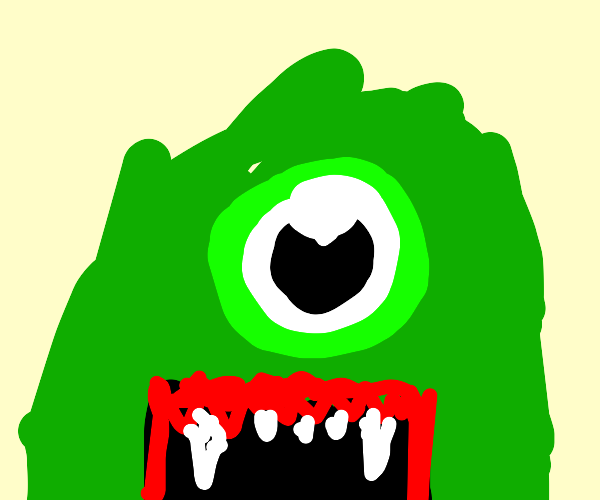 Closeup on Green Cyclops