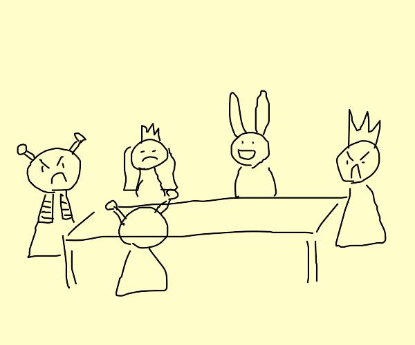 shrek 2 dinner scene
