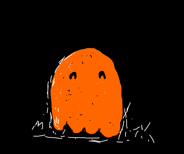 wet orange ghost. The end