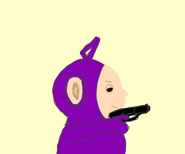 Teletubbies have weapons