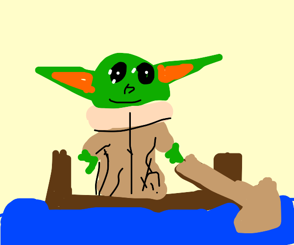 Yoda on a Boat