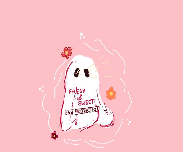 Deodorant Ghost