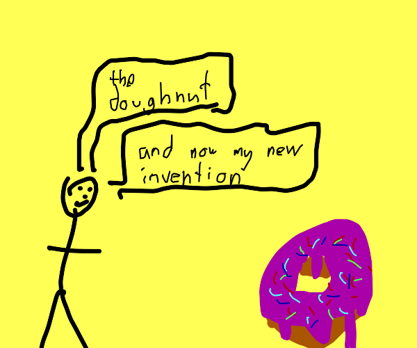 Human reveals their new invention