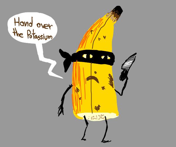 Half a banana is robbing you