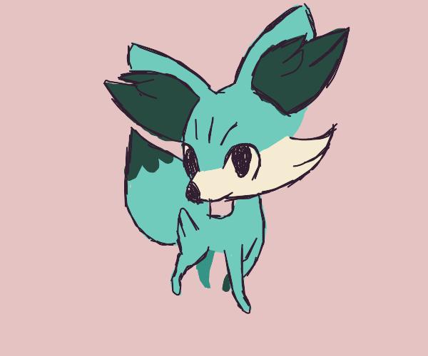 A Pokemon-like fox
