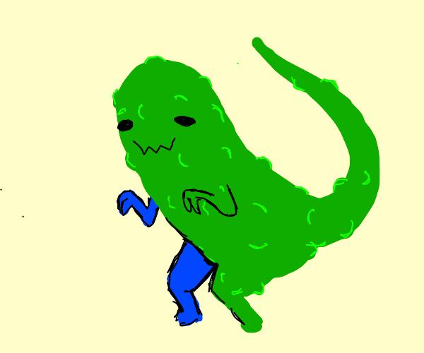 pickle the dinosaur :D