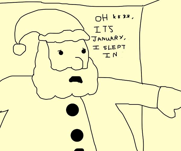 Santa is late