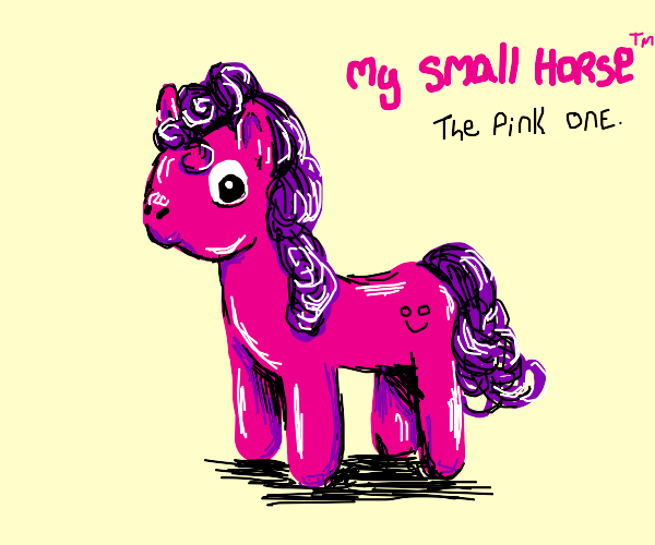 off brand pinkie pie