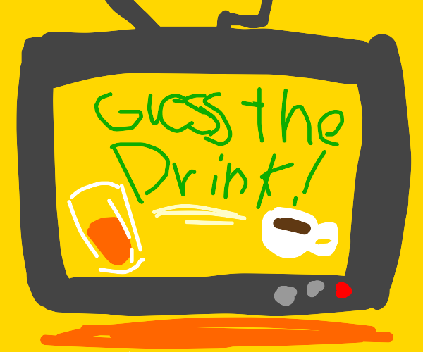 "New TV quiz game ""Guess The Drink"""