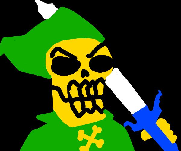Skeletor as Link