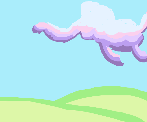 Cloud elephant