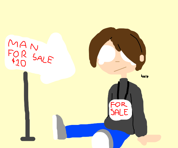 man for sale