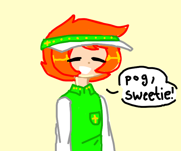 """ginger says """"pog, sweetie"""""""