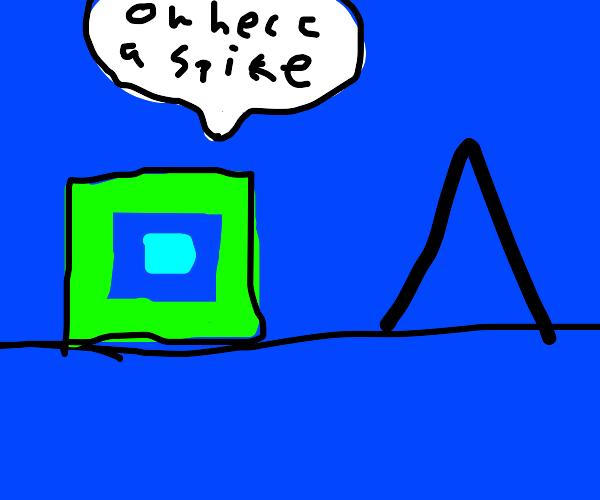 oh frick a spike