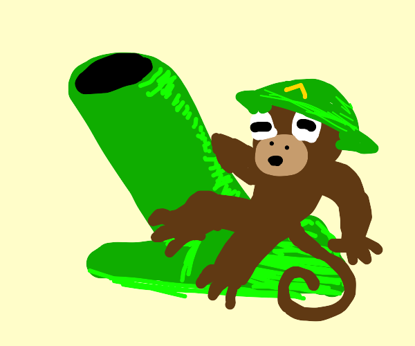 Motar monkey from bloons