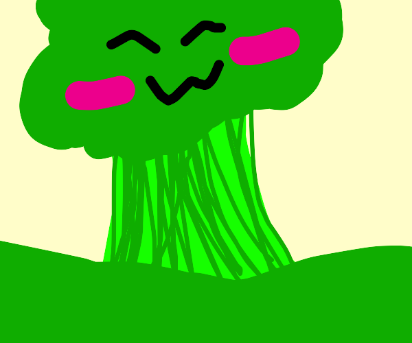 Happy Broccoli tree
