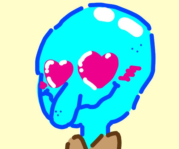 Lovesick Squidward