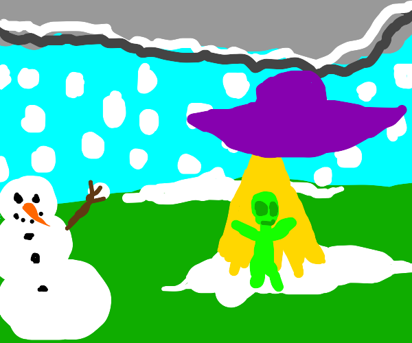 Breaking News! Aliens invading Winter?!