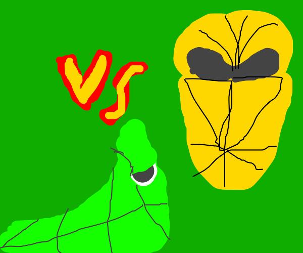 Kakuna vs Metapod (Pokemon)