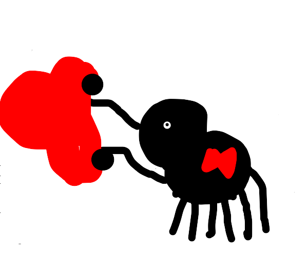 Giant Spider grabs a car
