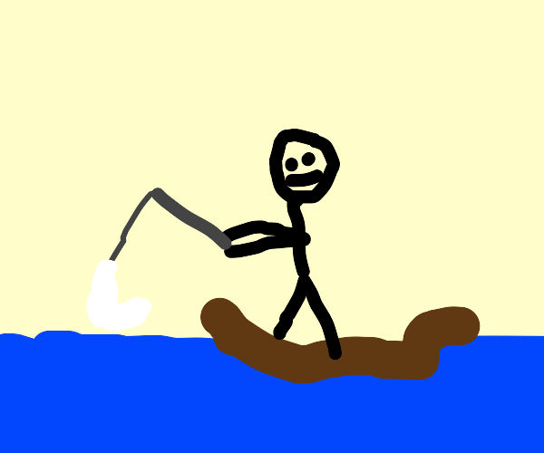 Fishing with a Sock