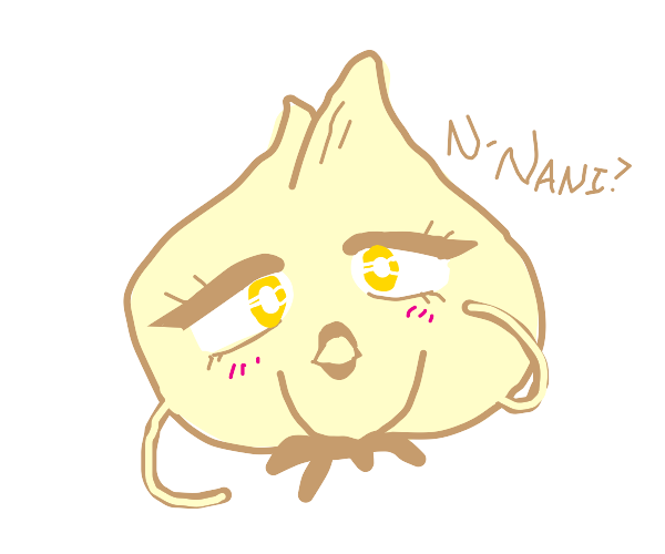 sentient anime garlic