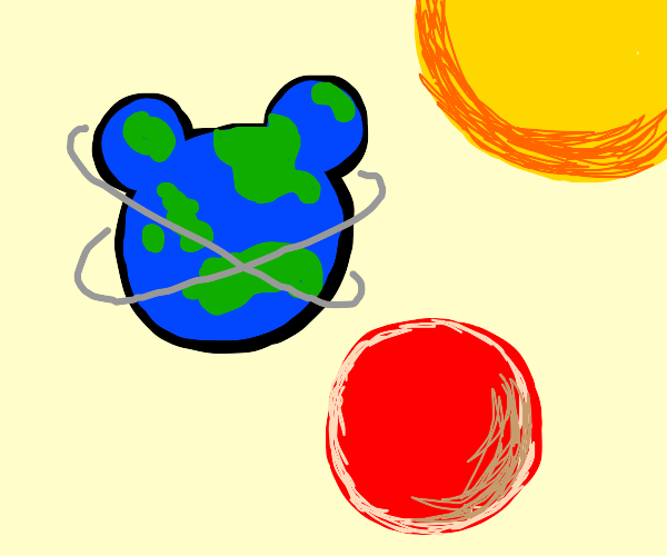 mickey mouse is a planet