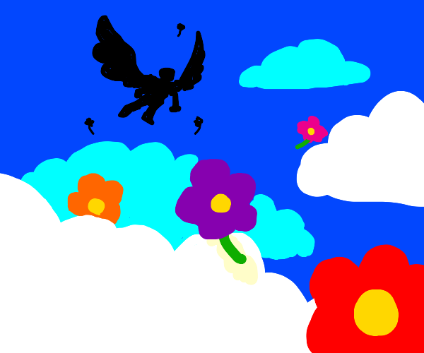 Flying with Flowers
