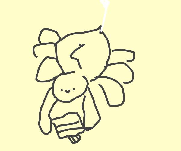 Tarantula carrying Toothpaste